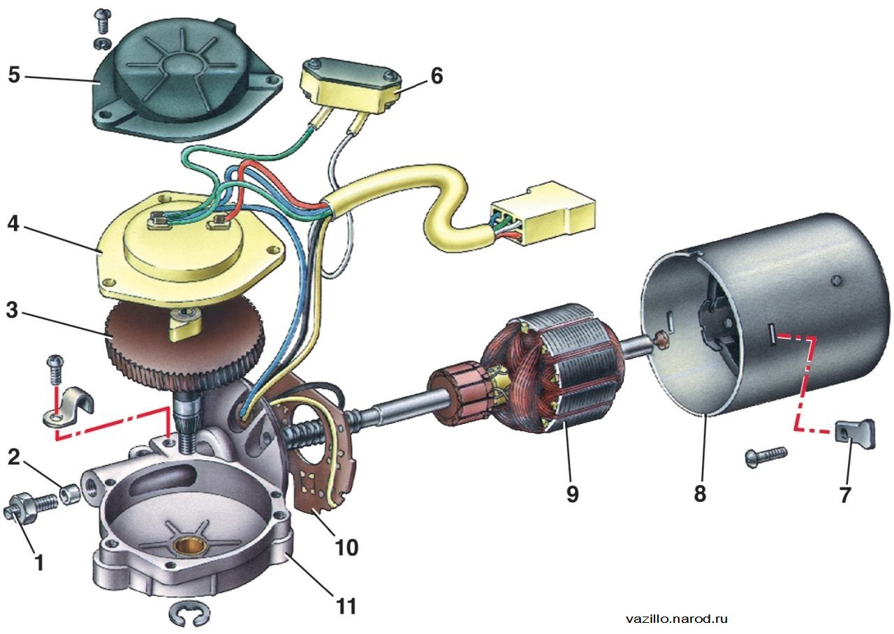 honda стеклоочистители мотор схема: